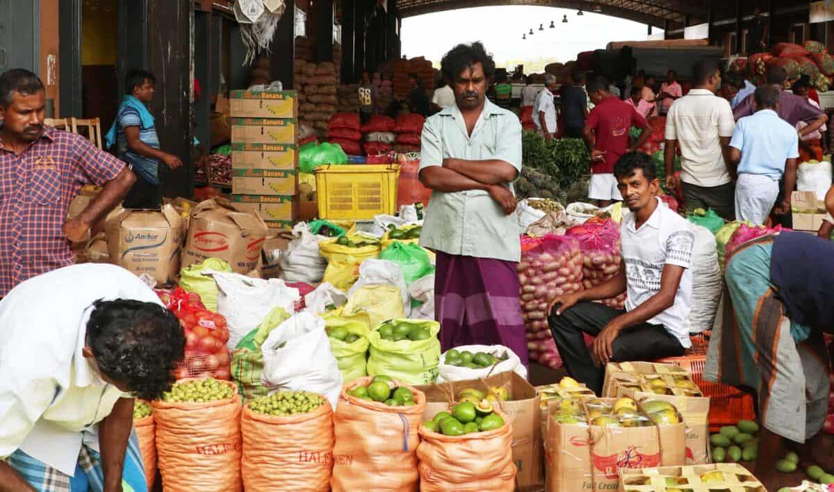 Dambulla Sri Lanka Markt