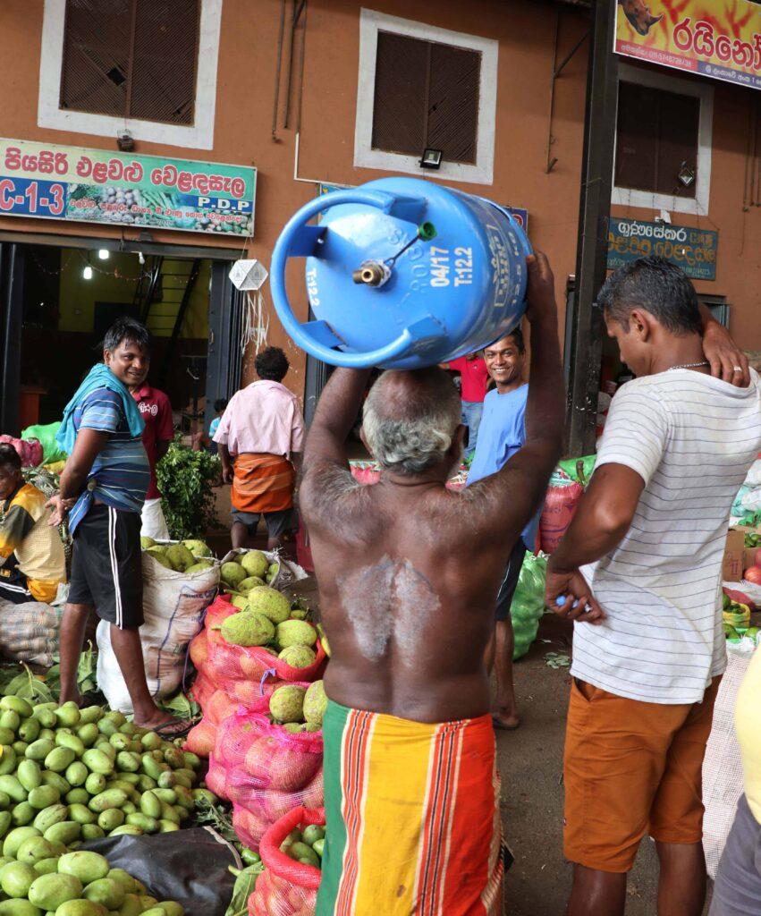 Sri Lanka Dambulla markt