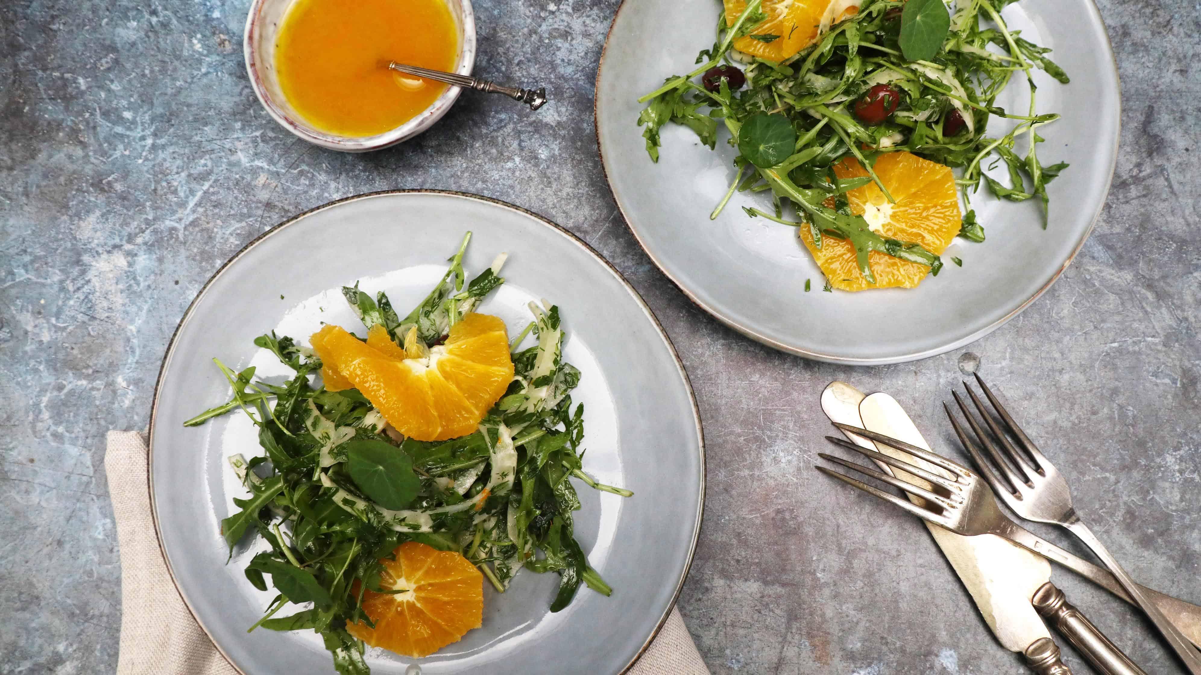 Salade sinaasappel & venkel