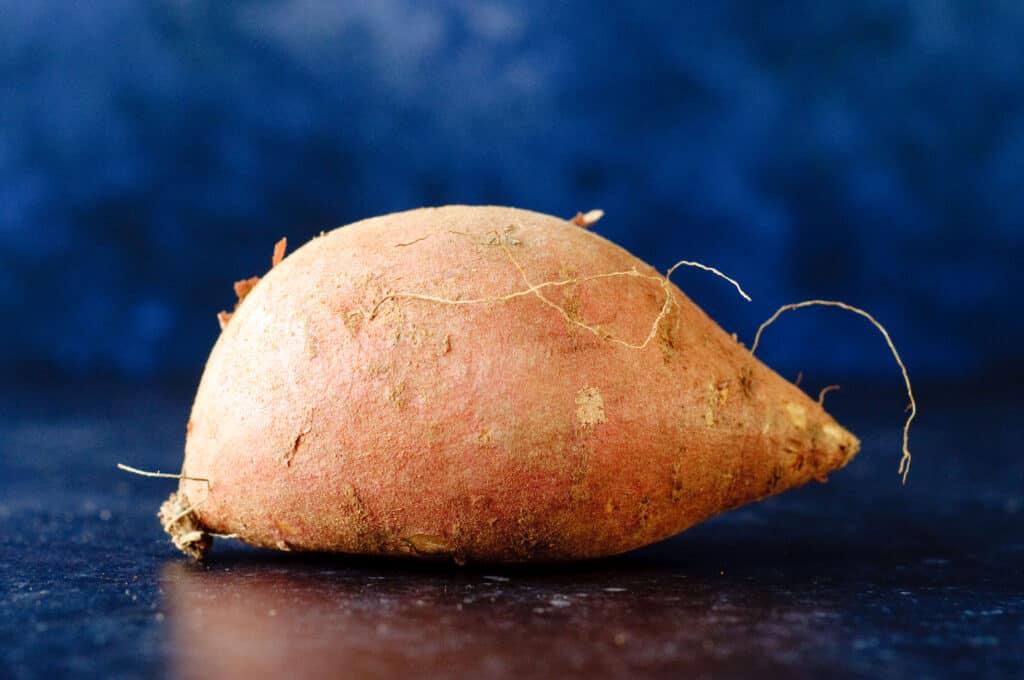 Zoete aardappelpuree