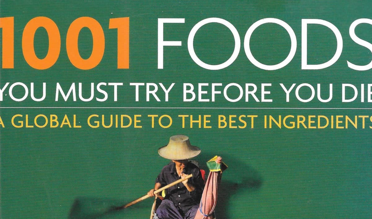 1001 foods you must try before you die