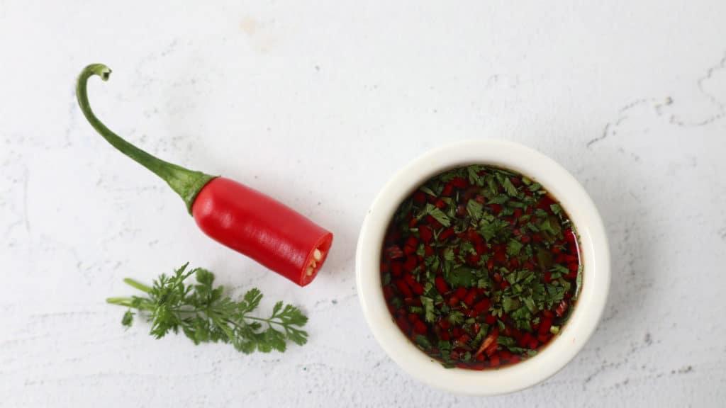 Dressing Aziatisch pepertje & koriander