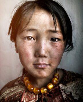 Mongolian Girl - Alamy