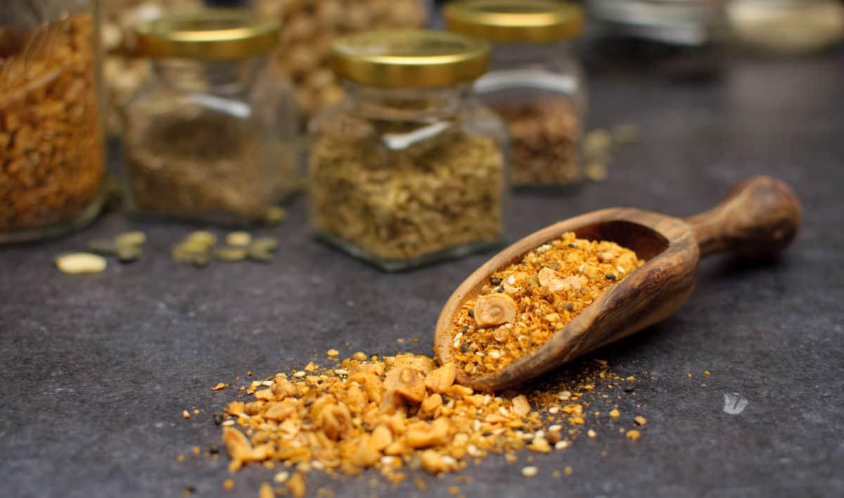 Dukkah noten & specerijen