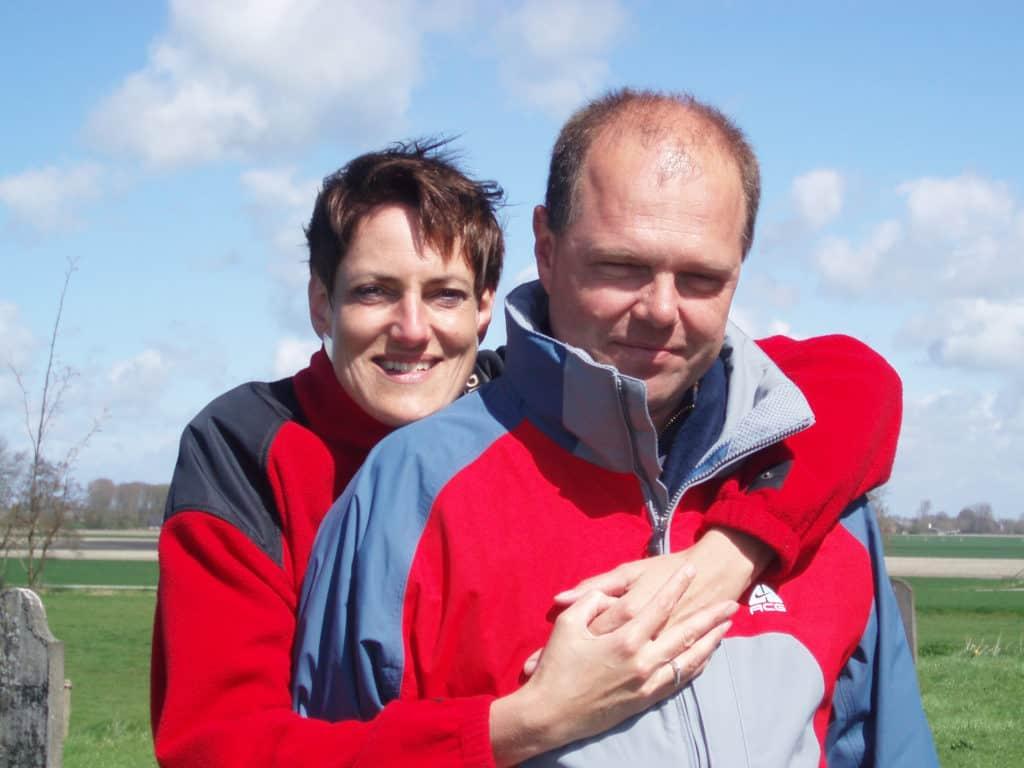 Erna en Jan in 2006