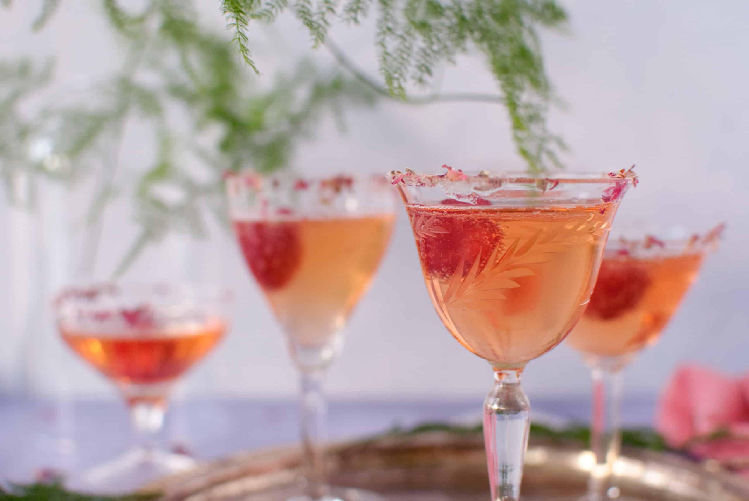 Valentijn cocktail prosecco