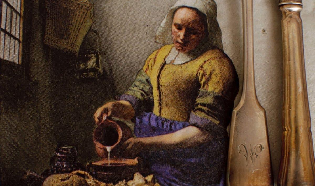 Melkmeisje Vermeer oude meesters