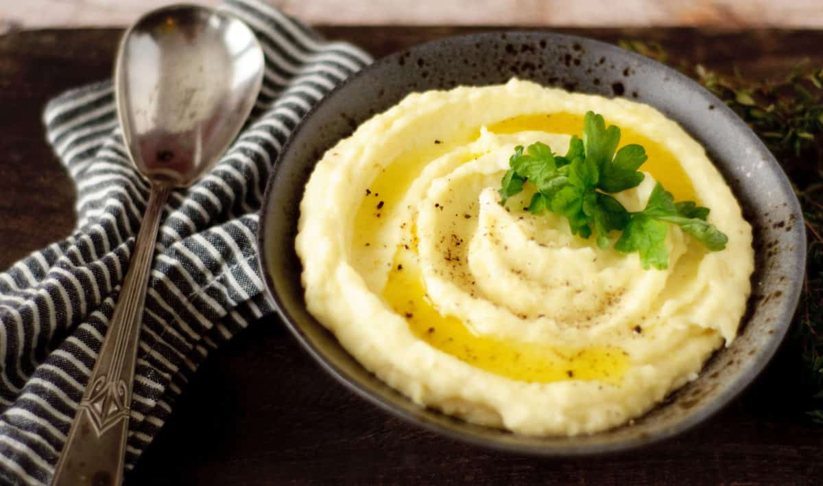 Puree van pastinaak & aardappel