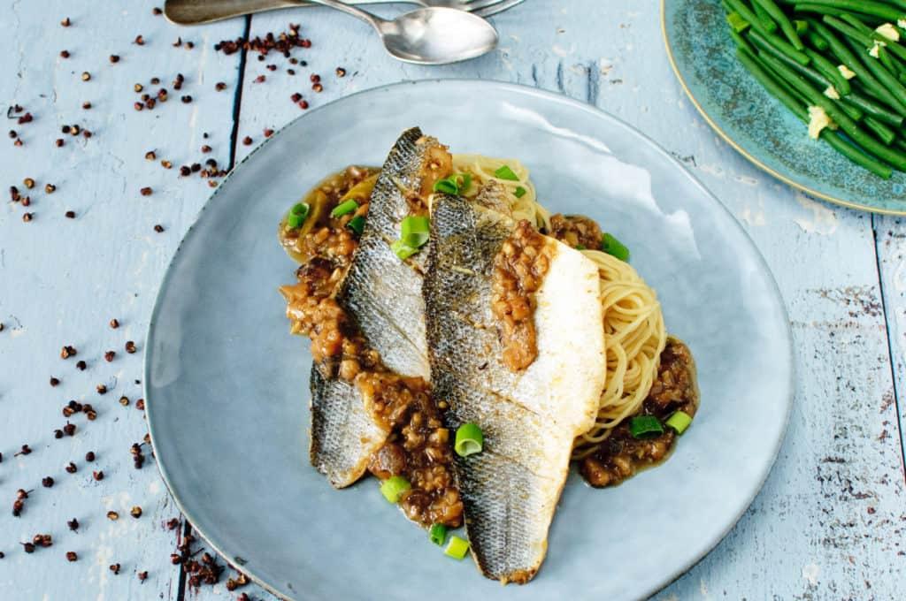 Sichuan vis- zeebaars