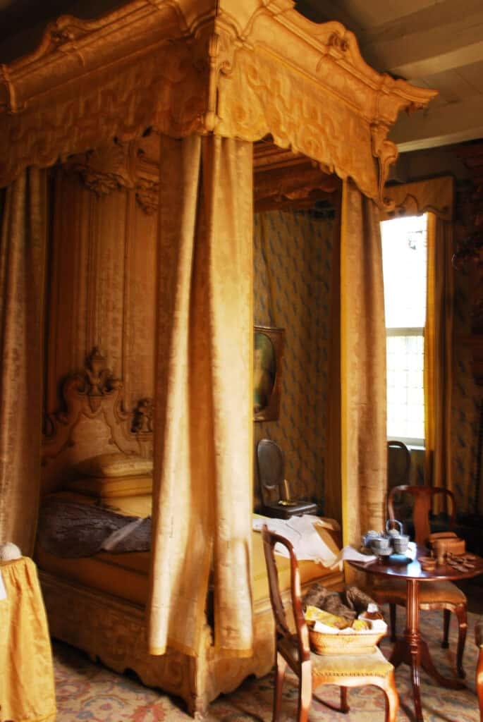 Slaapkamer op de Menkemaborg