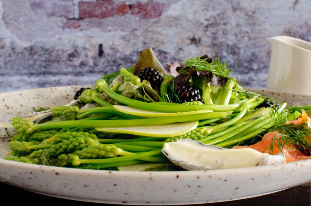 Salade korenaar asperge