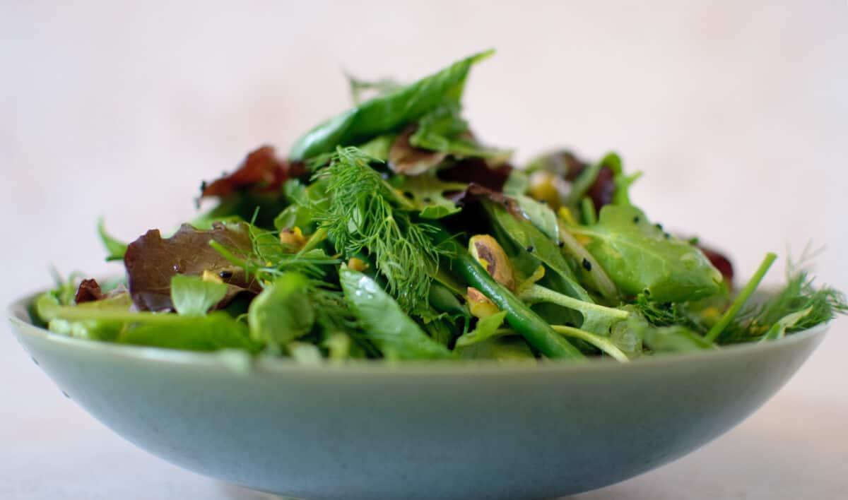 Salade verse kruiden