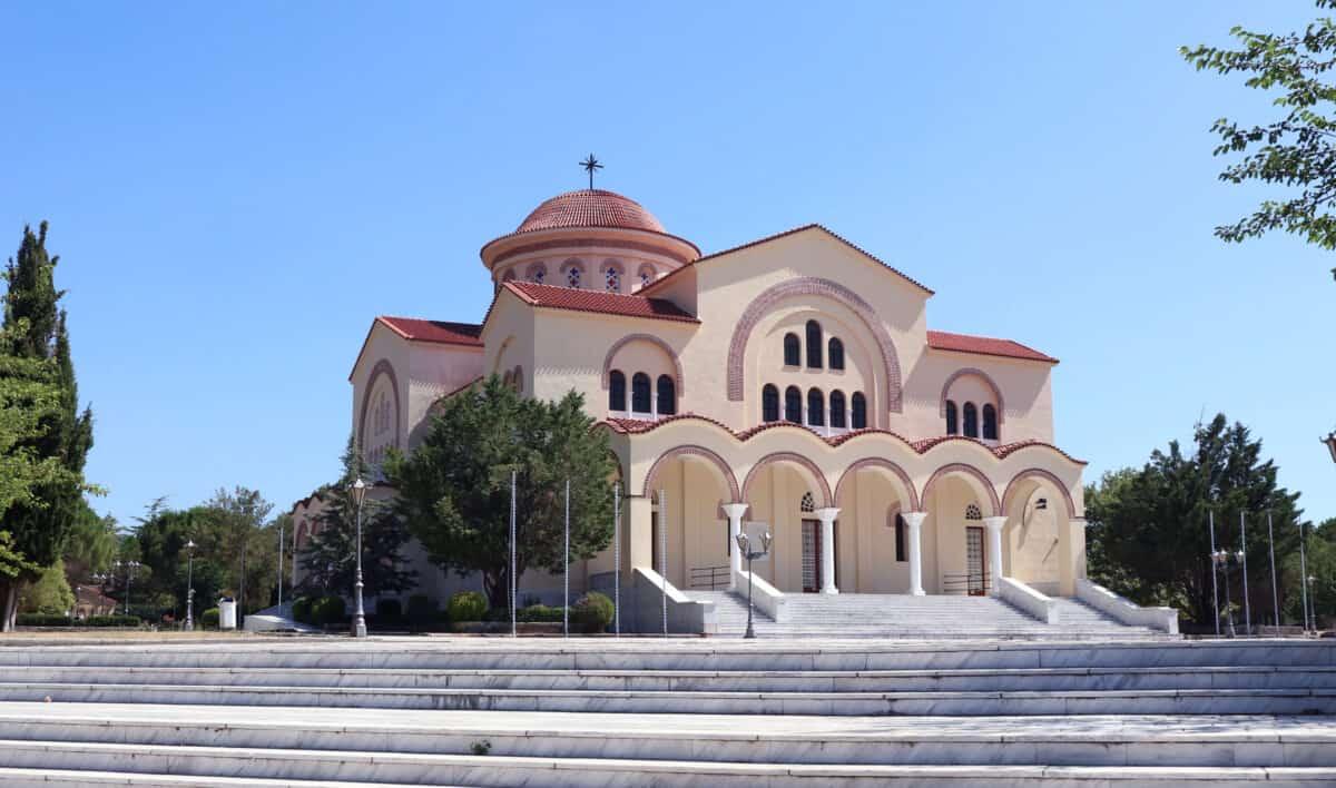 Klooster Agios Gerasimos Kefalonia