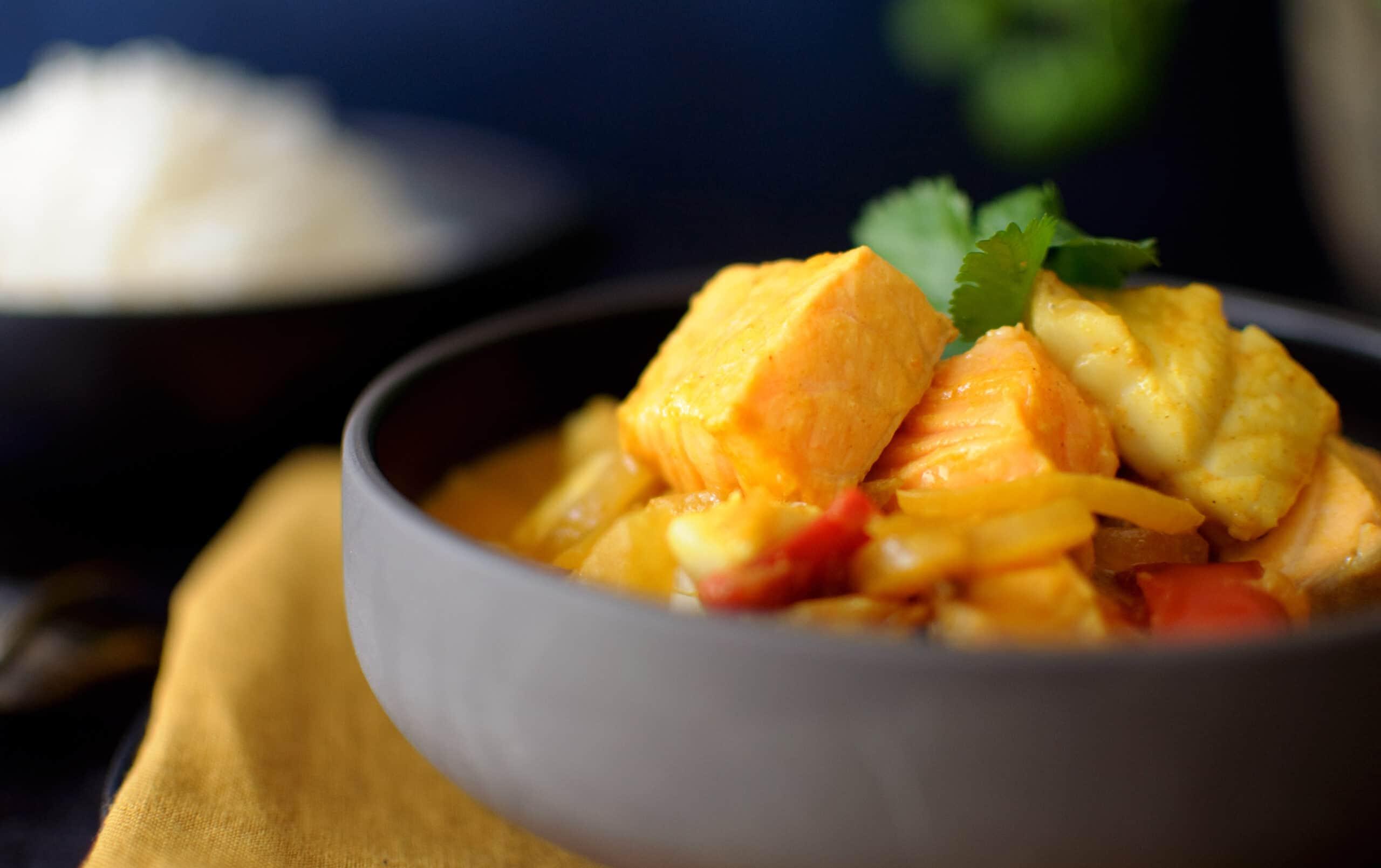 Curry Mchuzi Wa Samaki uit Zanzibar