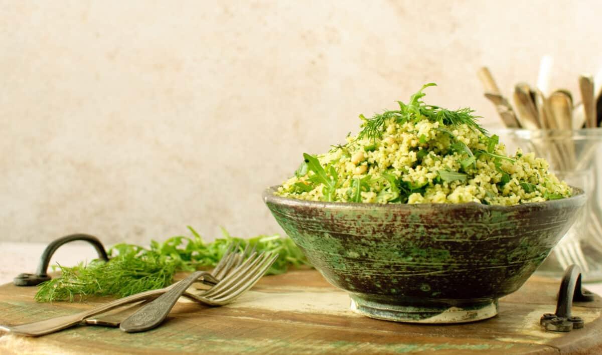 Couscous met verse kruiden