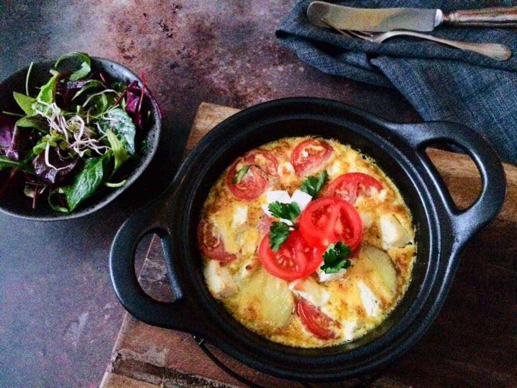 Frittata kaas & groenten