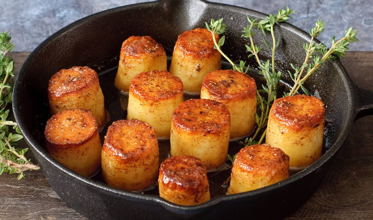 Fondant aardappelen