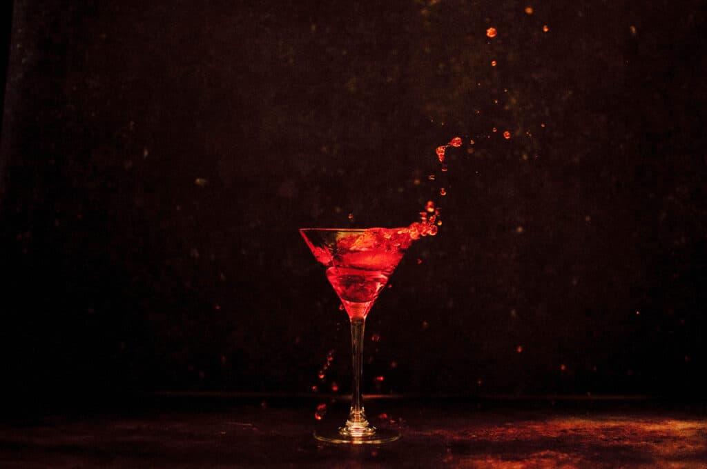 Cocktail foto splash