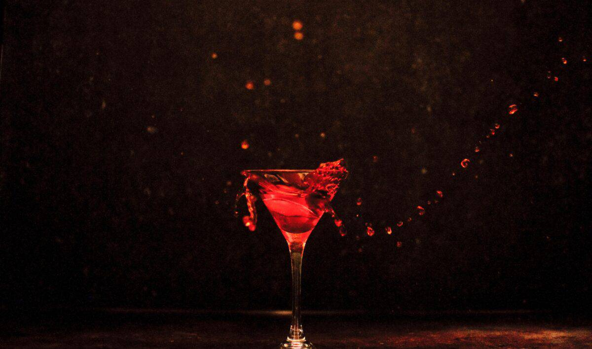 Cocktail splash foto