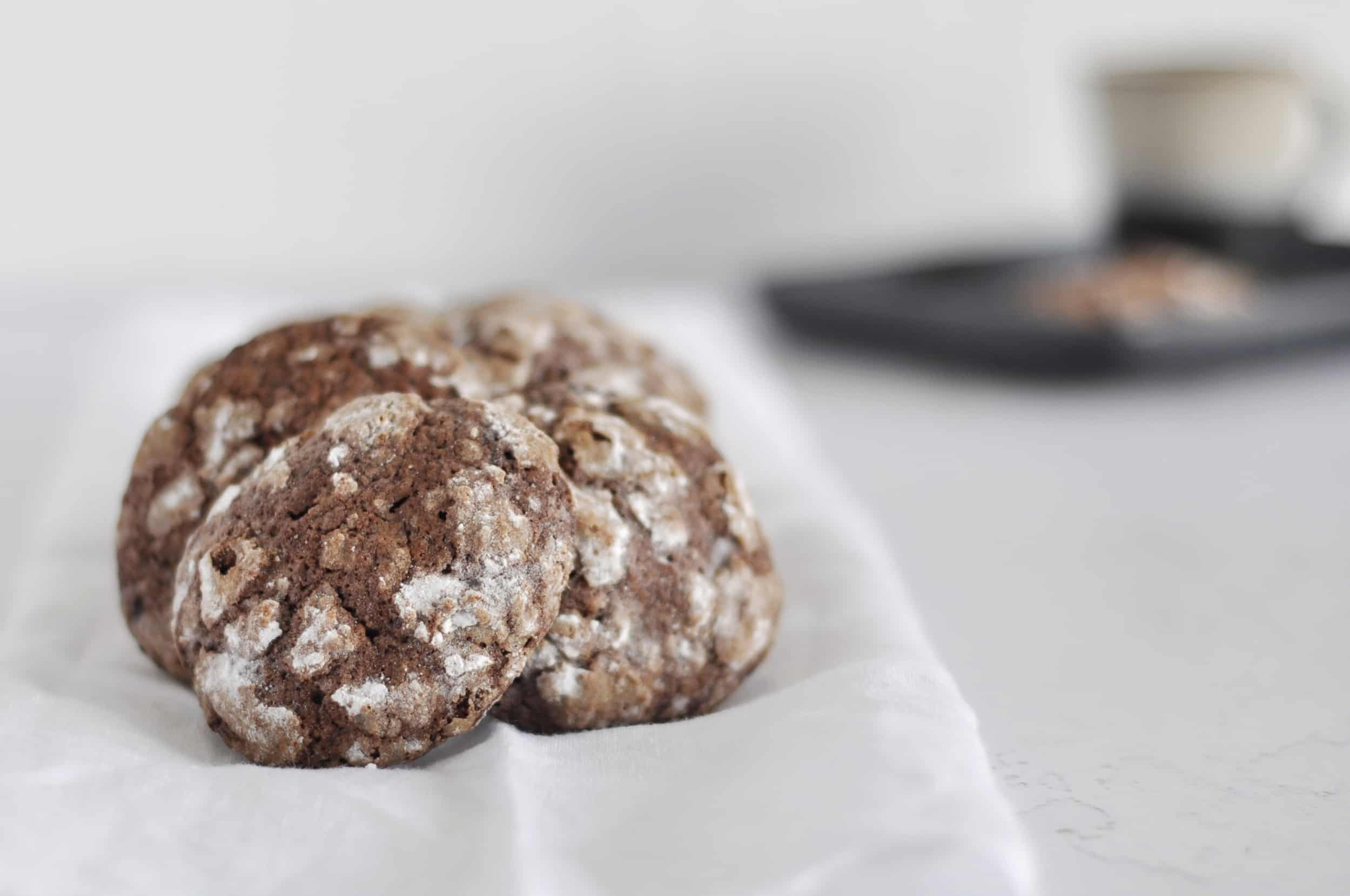 Koekjes chocolade & koffie