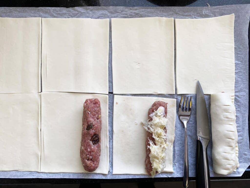 Zo maak je saucijzenbroodjes