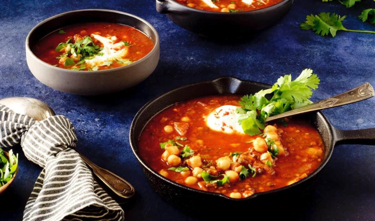 Vegetarische Arabische soep