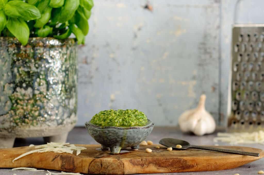 Pesto zelf maken