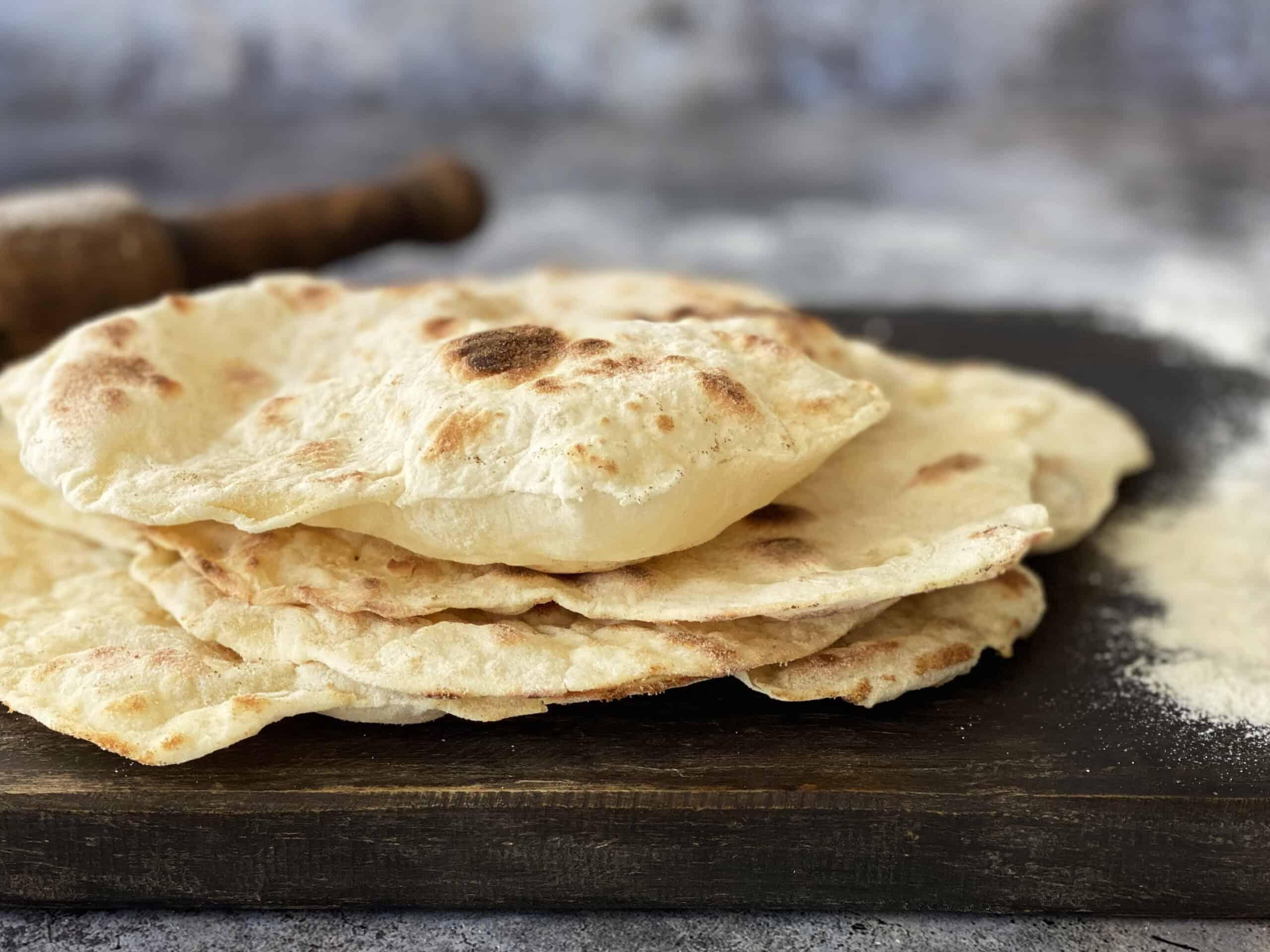 Platbrood 3 ingrediënten