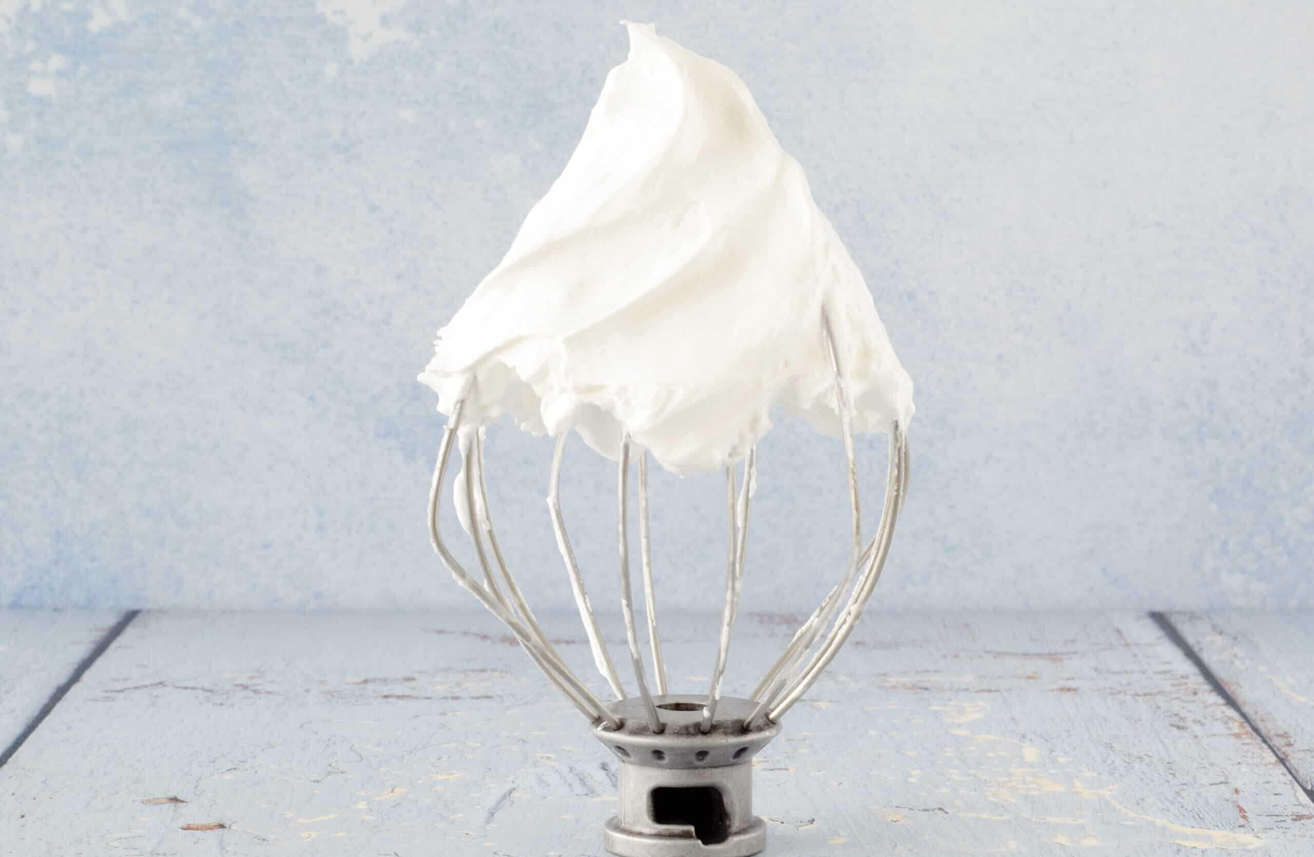 Italiaans meringue in drie smaken
