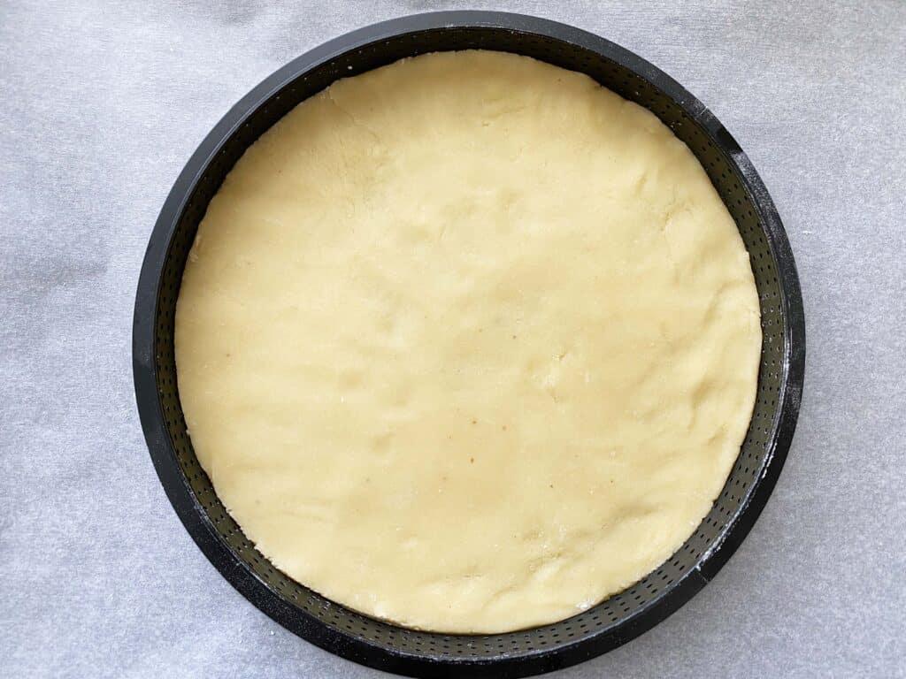 Tartelette zanddeeg deeg maken