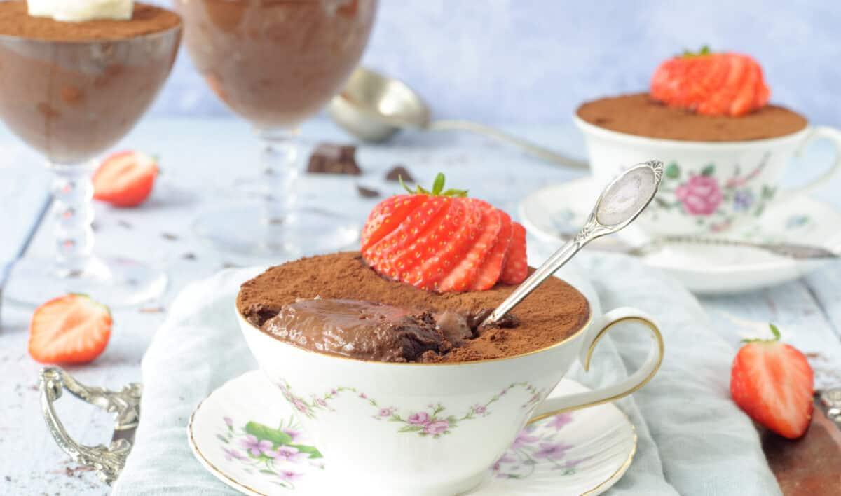 Chocolademousse zonder gedoe