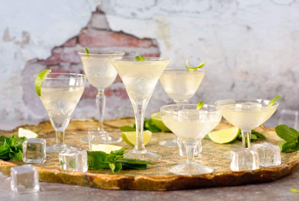 Zomerse cocktail limoncello