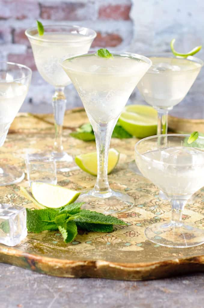Cocktail limoncello & limoensiroop