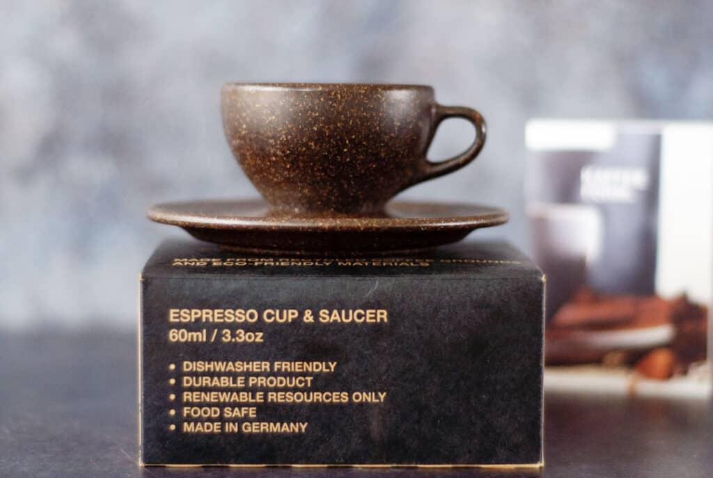 Duurzame kopjes van koffiedik