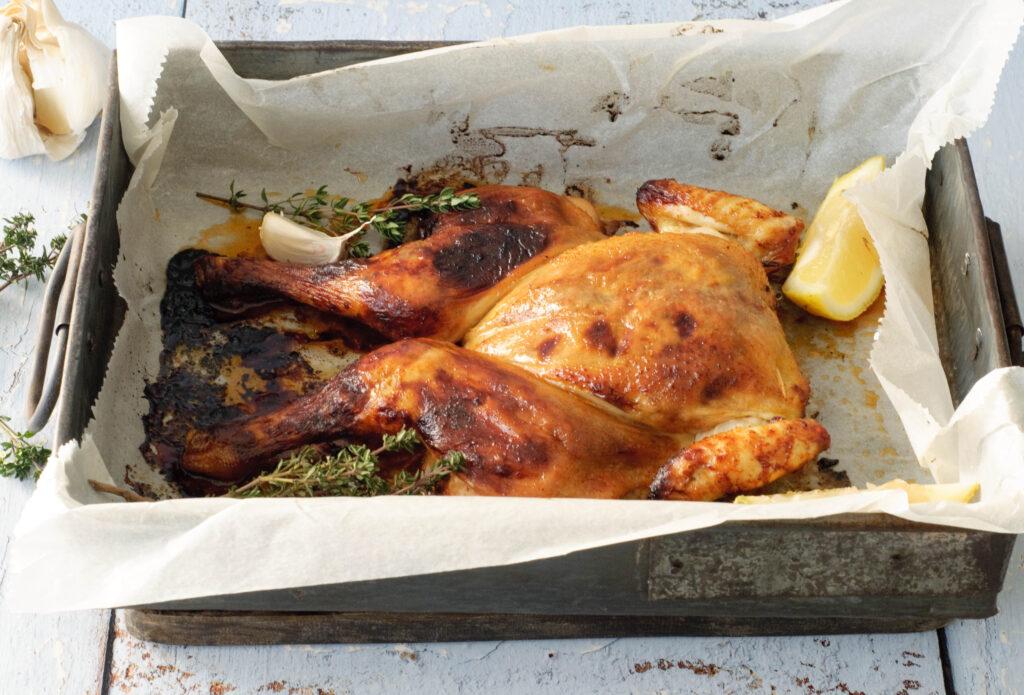 Italiaanse kip uit de oven