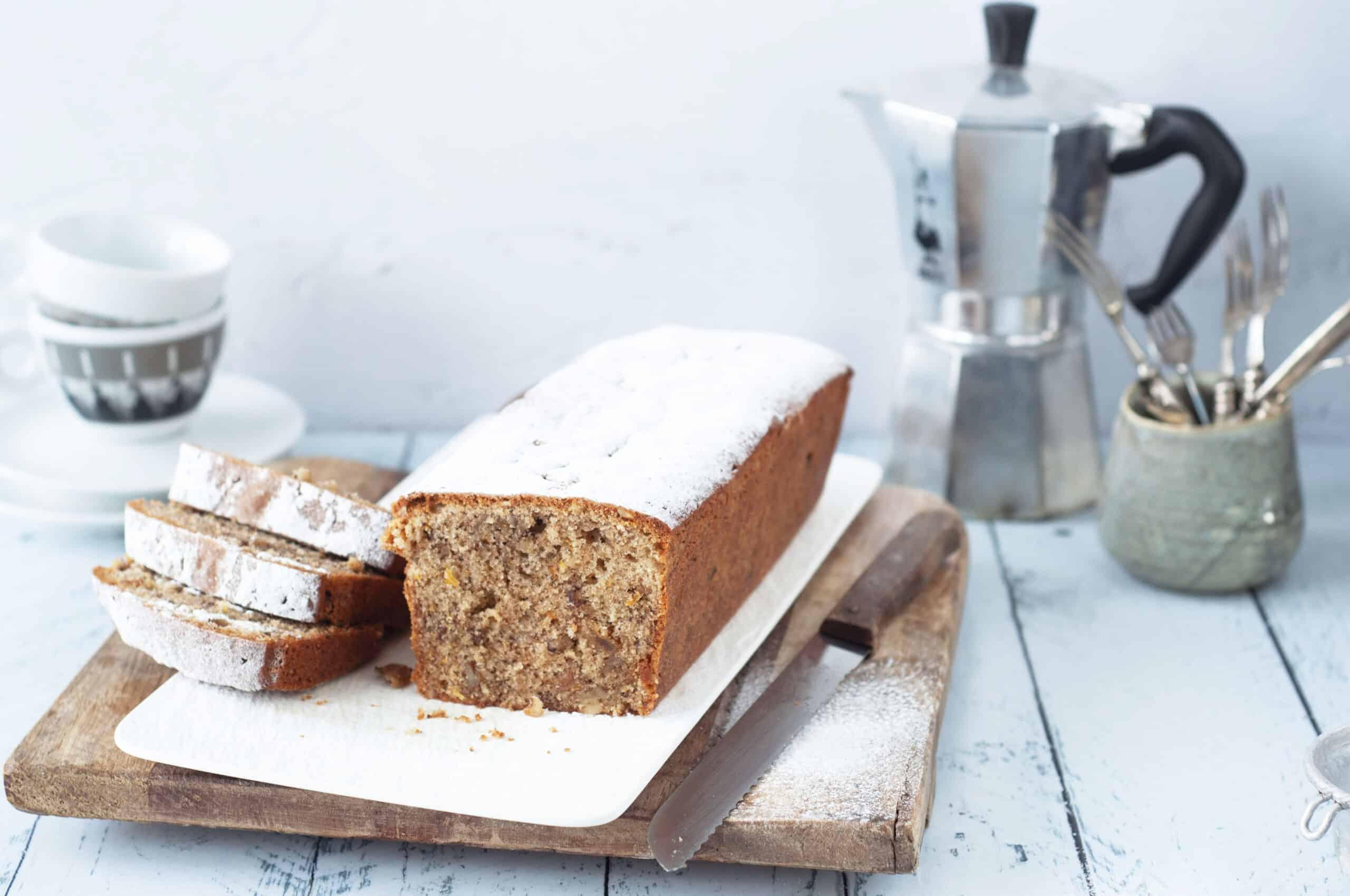 Cake noten rozijnen & sinaasappel