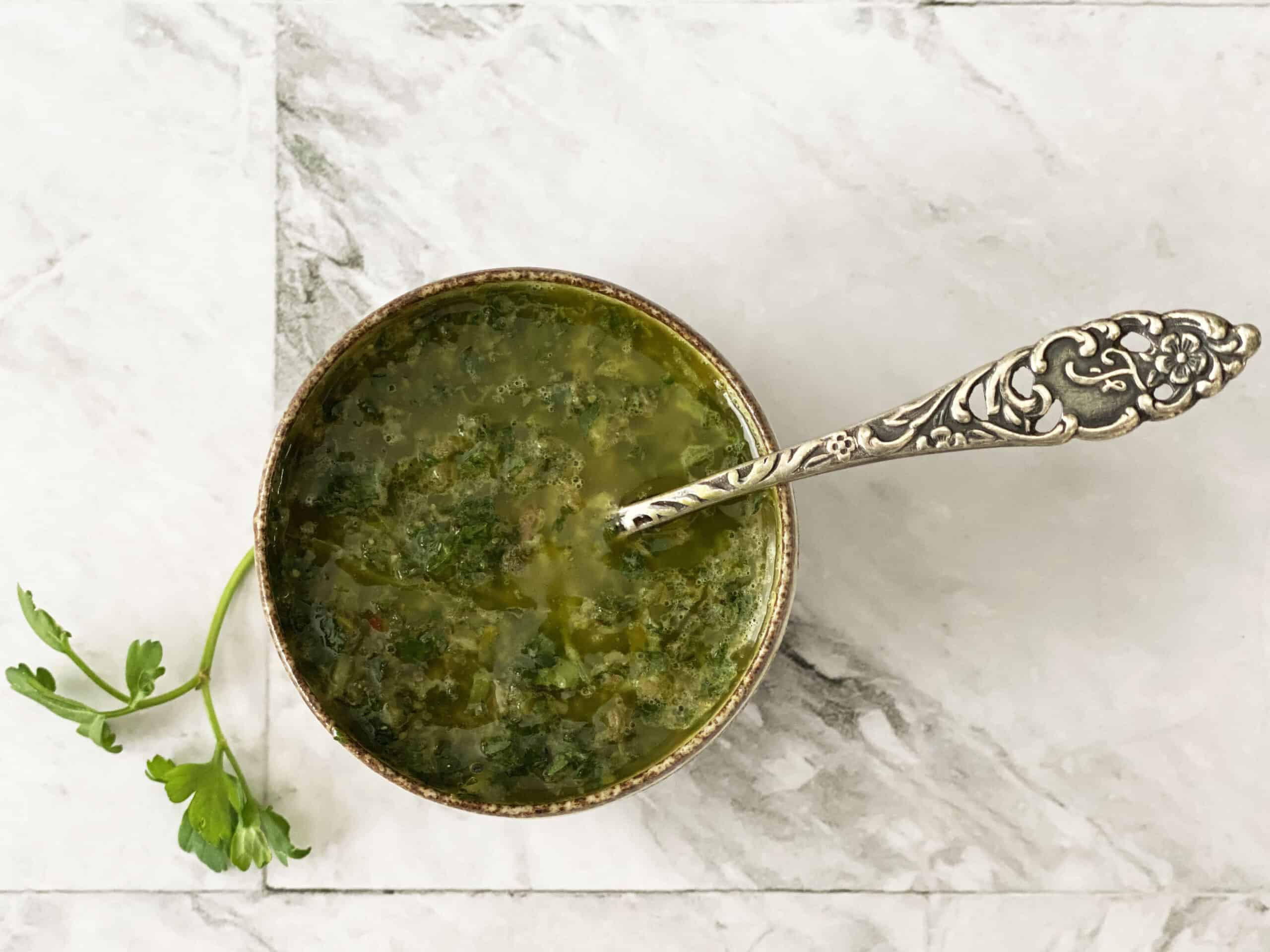 Gremolata voor vis of vlees
