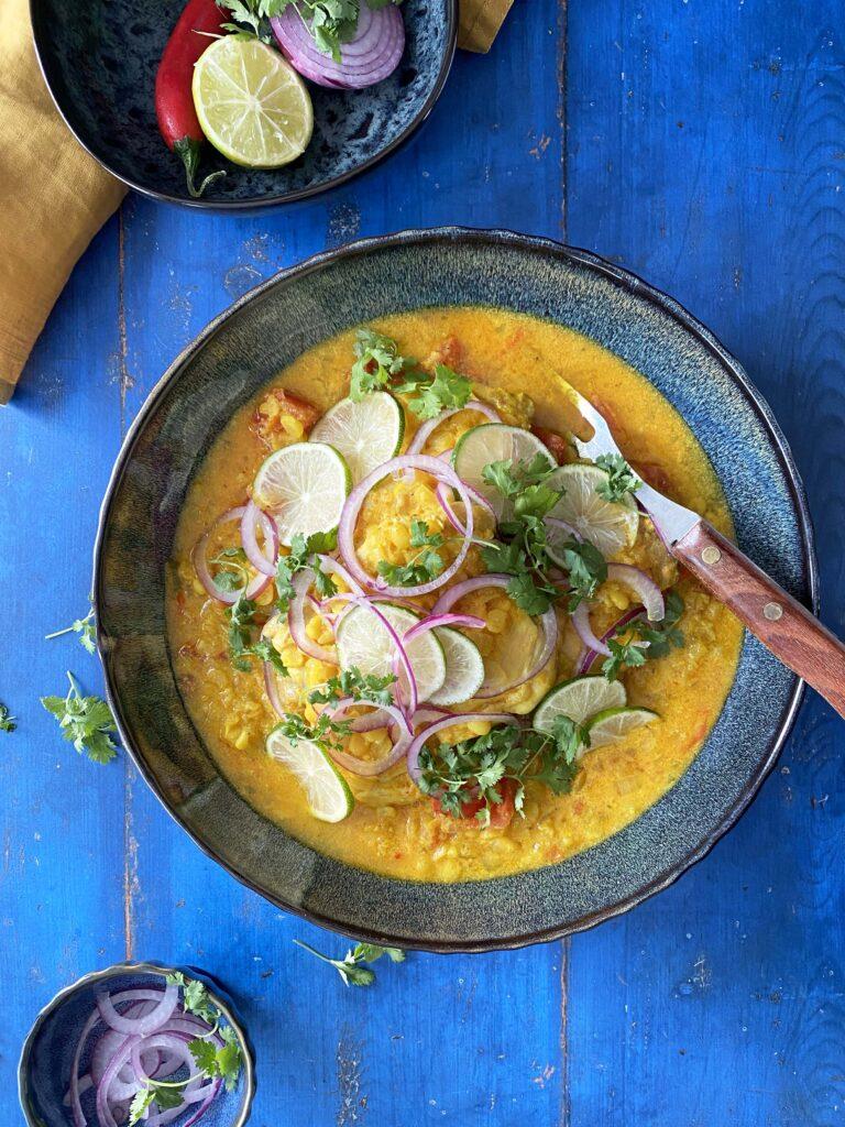 Afghaanse kip makkelijk te maken