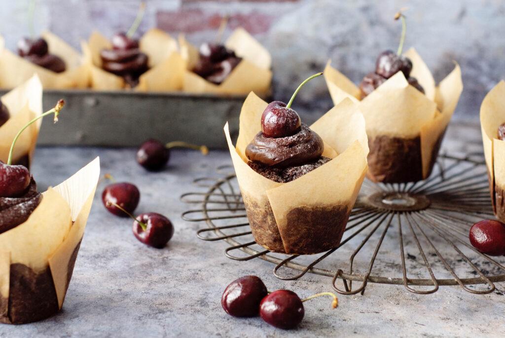 Makkelijke muffin met mooie decoratie