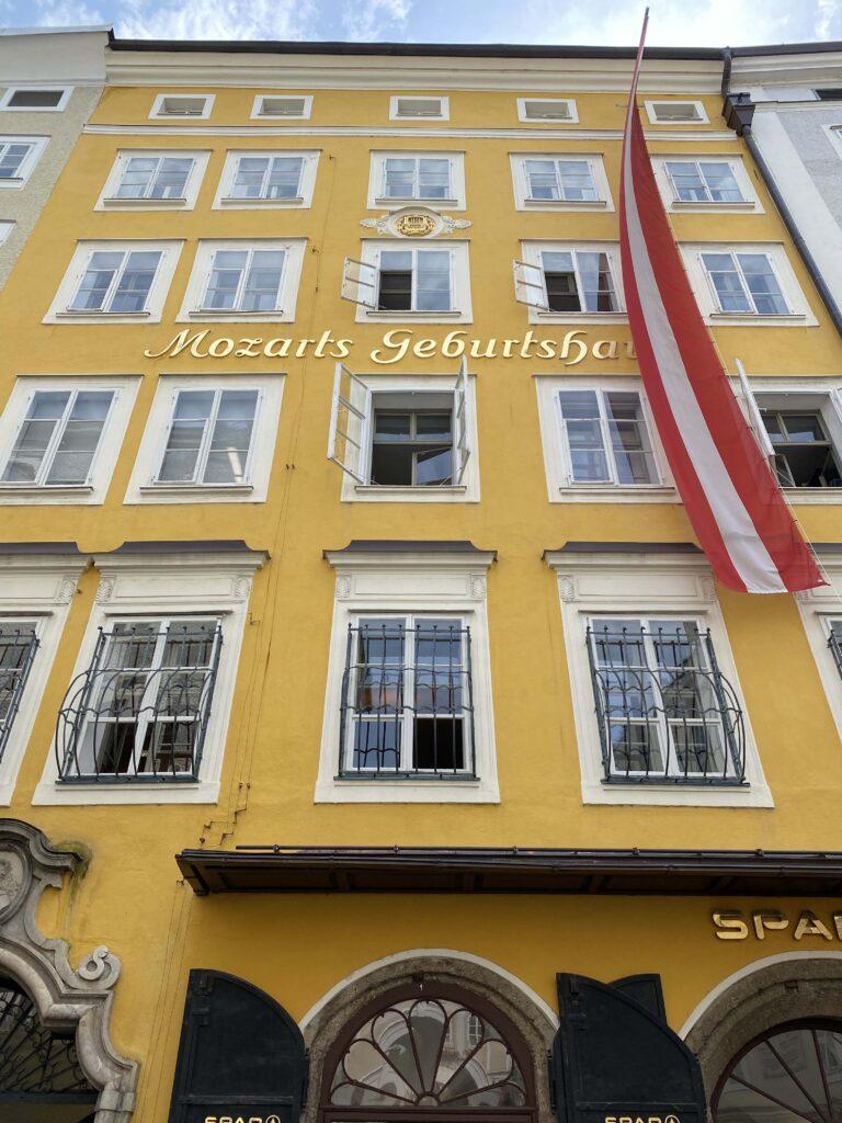 Oostenrijk Salzburg, geboortehuis van Mozart